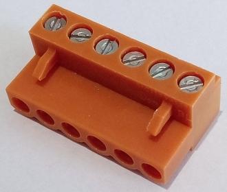 430-002  6-way screw terminal block for Datascan