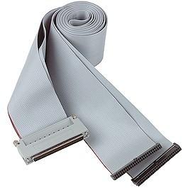 C100HD50-6 Cable, 50-conductor ribbon, high-density 100-pin to dual 50-pin, 6 ft.