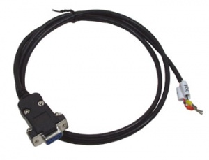 CA-0910 RS232 Cable 9-pin Sub-d F to 3-wire