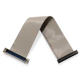 CA-248 Ribbon cable, 40-pin header to 37 pin DSUB, 9 in.