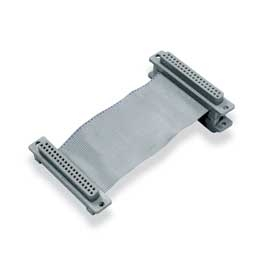 CA-37-1 Ribbon cable for use with 1 DBK device attached, 7 in.
