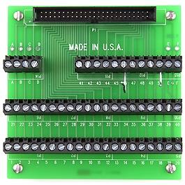 CIO-MINI50 Universal screw-terminal board, 50-pin