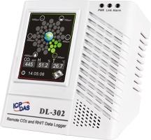 DL-302  CO2, Temp, RH, Dew point Data Logger