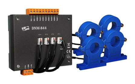 DNM-844-200A   4 Channel 200A Current Transformers (AC/DC)