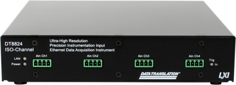 DT8824  Isolated, Simultaneous, High-Precision Ethernet Device