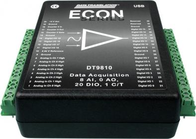 DT9810  Analog Input and Digital I/O USB Device