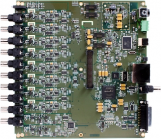 DT9857E-8-xAO-OEM  USB Dynamic Signal Analyzer: 8 IEPE AI, 24-bit, 105.4 kHz; 16 DIO; 1 Tachometer; No enclosure