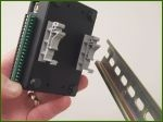 ECON DIN RAIL KIT   Kit for mounting ECON Series USB modules to a DIN rail