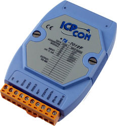 I-7012F Analog Input Module (1AI+1DI+2DO)