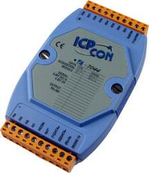 I-7044 Isolated Digital I/O module (4DI/8DO)