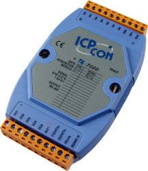 I-7050 Digital I/0 module (7DI/8DO)