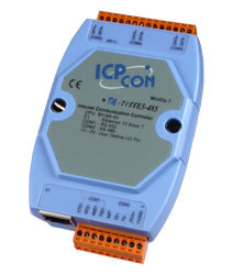 I-7188E5-485 Ethernet to Serial Converter (1x RS232, 4x RS485)