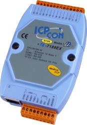 I-7188EX-MTCP Modbus/TCP Embedded Controller