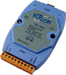 I-7520 RS-232 to RS-485 converter