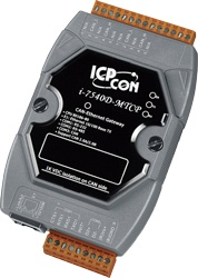 I-7540D-MTCP Modbus/Ethernet to CAN bus Gateway