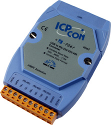 I-7561 USB to RS232/422/485 Converter