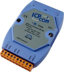 I-7563 USB to 3-way RS-485 Hub