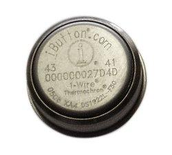 iButton DS1925L Thermochron Data Logger (-40 to +85'C) -ext mem