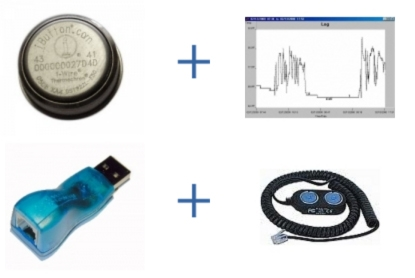 iButton THERMO-S-KIT-H Hygrochron Starter Kit