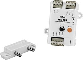 iSN-101/S3/DIN Liquid Leak Detection Module, Leakage probe (DIN-Rail mount)