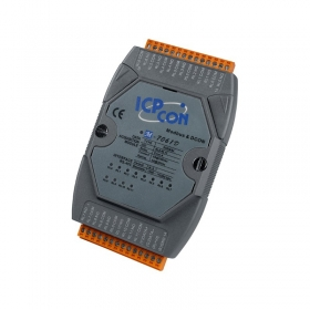 M-7061D 12-channel Power Relay Output Module, LED  (ModBus_DCON Protocol)