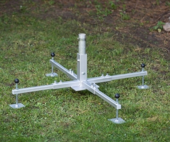 Mast-base-4L  Mast Base- 4 legged