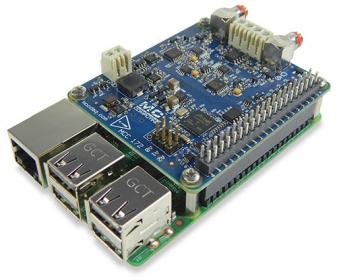 MCC-172 IEPE Measurement DAQ HAT for Raspberry Pi