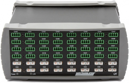 MEASURpoint: Ethernet Instrument; 16 Thermocouple, 16 RTD, 16 Voltage inputs