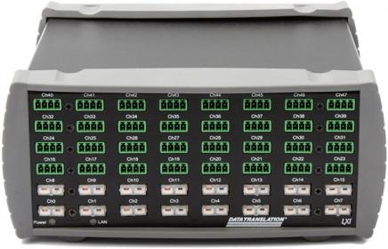 MEASURpoint Ethernet Instrument; 48 Voltage inputs