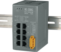 NS-208G 8 port Gigabit Ethernet Switch