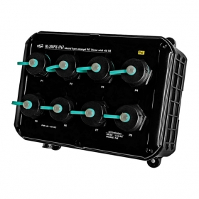NS-208PSE-IP67  Industrial 8-port unmanaged IP67 Ethernet switch with PoE