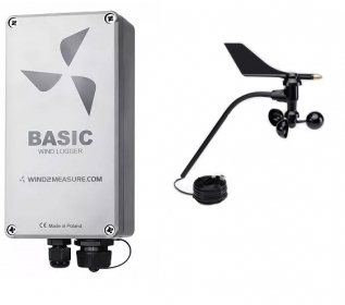 PME-DL-Wind  Wind Speed+Direction Data Logger