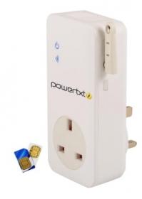 PowerTxt  Power Loss Alert/remote control unit (UK)