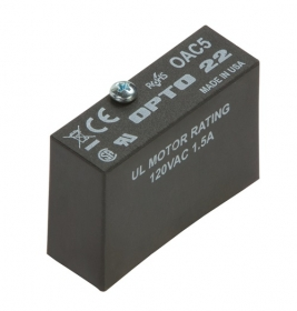 SSR-OAC-05  Solid-State Relay Module, Single, AC Switch, 24 to 140 VAC, 3.5 A @ 120 VAC