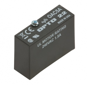 SSR-OAC-05A  Solid-State Relay Module, Single, AC Switch, 24 to 280 VAC, 3.5 A @ 240 VAC
