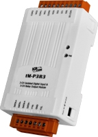 tM-P3R3 3-channel Isolated Digital Input, 3 Relay Output Module