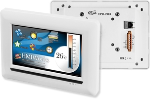 """TPD-703-64  7"""" Touch Screen HMI Display (64Mb)"""