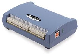 USB-1608GX-2AO  16-Bit, 500 kS/s, Multifunction USB Data Acquisition Device