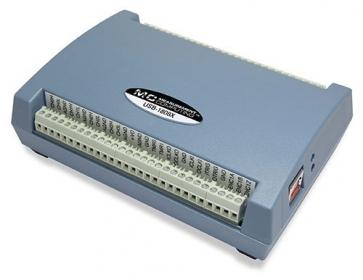 USB-1808X  18-bit 200ks/s Simultaneous, Multifunction DAQ Device