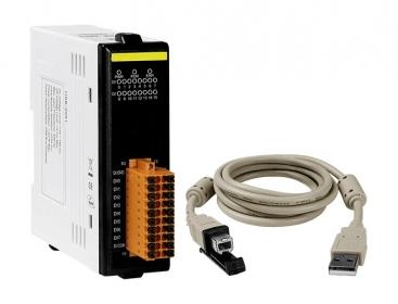 USB-2051 USB I/O Module with Isolated 16-ch DI