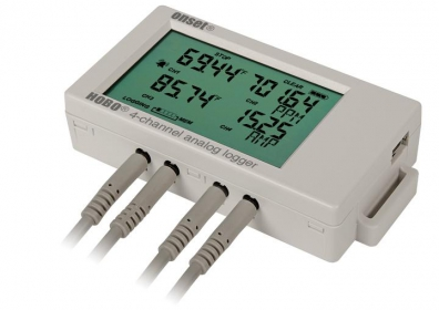 HOBO® UX120-006M Analog Input Data Logger 4 channel