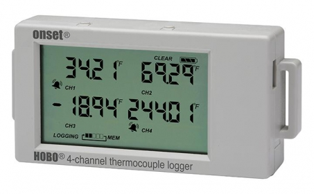 HOBO® UX120-014M Thermocouple Input Logger 4 channel