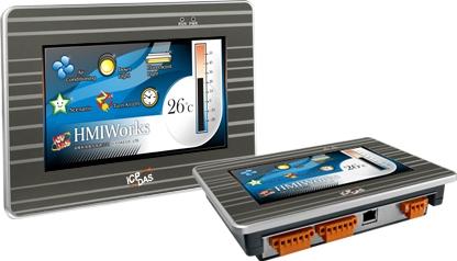 "VPD-173X-64  7"" Touch Screen HMI Display, IP65 Panel, sup XV board (64Mb)"