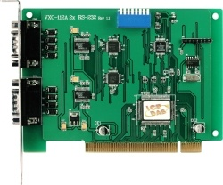 VXC-112U 2-port RS232 Comms Card (Universal PCI)
