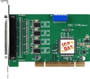 VXC-114U 4-port RS232 Universal PCI Comms Card