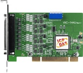 VXC-144U 4-port RS422/RS485 Universal PCI Comms Card