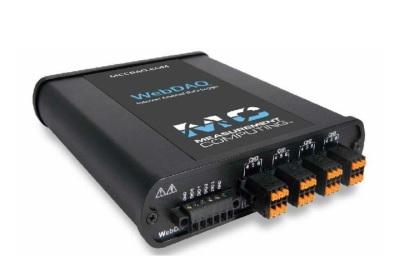 WebDAQ 904  Internet Enabled Universal Input logger (4ch)