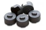 BOOT-TIDBIT-BK Tidbit Protective Boots - Black (pk5)