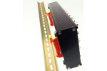 DIN RAIL KIT   Kit for mounting DT980X Series USB modules to a DIN rail