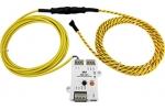 iSN-101/S2/DIN Liquid Leak Detection Module, 3m Leak detect Cable (DIN-Rail mount)